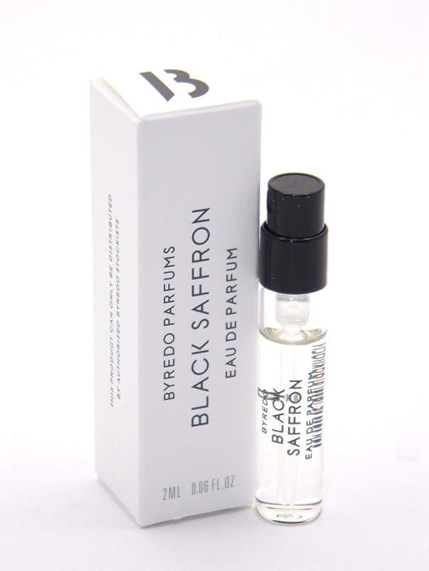 アンプレパートリー精算Byredo Parfums Black Saffron EDP Vial Sample(バレード ブラック サフロン オードパルファム)1ml サンプル
