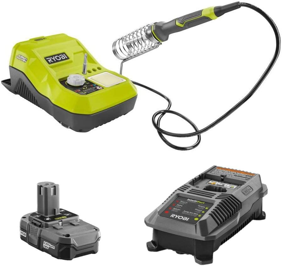 RYOBI 18-Volt Selling and selling ONE+ Cash special price Hybrid Soldering Station Kit Pa - Bulk Combo