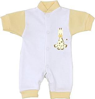 Babyprem Baby Frühchen Kleine Frühgeborene Kleidung Strampler Overall 32-44 cm Eule Giraffe