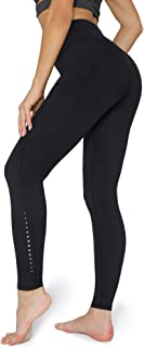 POSHDIVAH Ultra Soft Yoga Pants for Women High Waisted Tummy Control Workout Leggings with Pockets