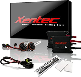 Xentec H11 (H8/H9) 8000K HID Xenon Bulb bundle with 55W EPE Alloy Slim Ballast (Lightning Blue)