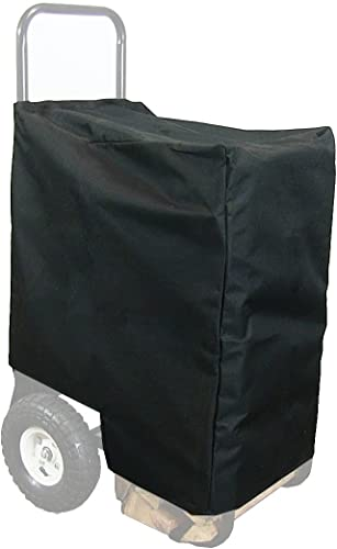 discount Sunnydaze Firewood Log Cart Cover Only - Heavy-Duty Outdoor Weather-Resistant online Cover - Durable Black Fabric Construction with PVC wholesale Undercoating - 14-Inch online sale