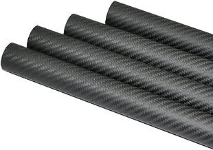 Abester 100% Carbon Fiber Tube ID 22mm x OD 25mm x 1000mm 3K Matt Surface for RC Plane (1 Piece)