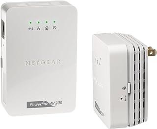 Netgear Powerline Adaptador–Kit de iniciación, Wi-Fi, 200 Mbps