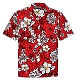 Camisa Hawaiana | Hombre | Señores | 100% Algodón | Talla S - 8XL | Manga Corta | Muchos Colores | Flores | Flor | Hibisco | Tropical | Aloha | Clasico | Retro | Camiseta Hawaiiana | Hawaii