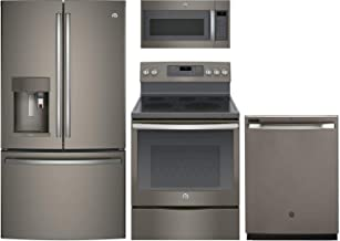GE Profile 4 Pcs Kitchen Package with PYE22PMKES 36