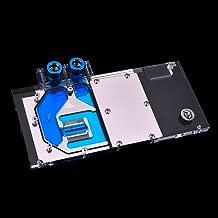 B BYKSKI RGB VGA GPU Water Cooling Block for Colorful igame GTX 1080 Ti Vulcan X OC