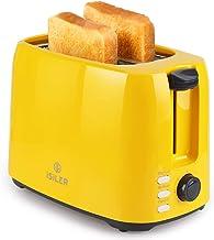 توستر برش iSiLER 2 ، توستر شیار عریض 1.3 اینچی با 7 تنظیمات سایه و پخت دو طرفه ، توستر نان جمع و جور با سینی خرده متحرک ، گواهی UL ، عملکرد لغو مجدد یخ زدایی