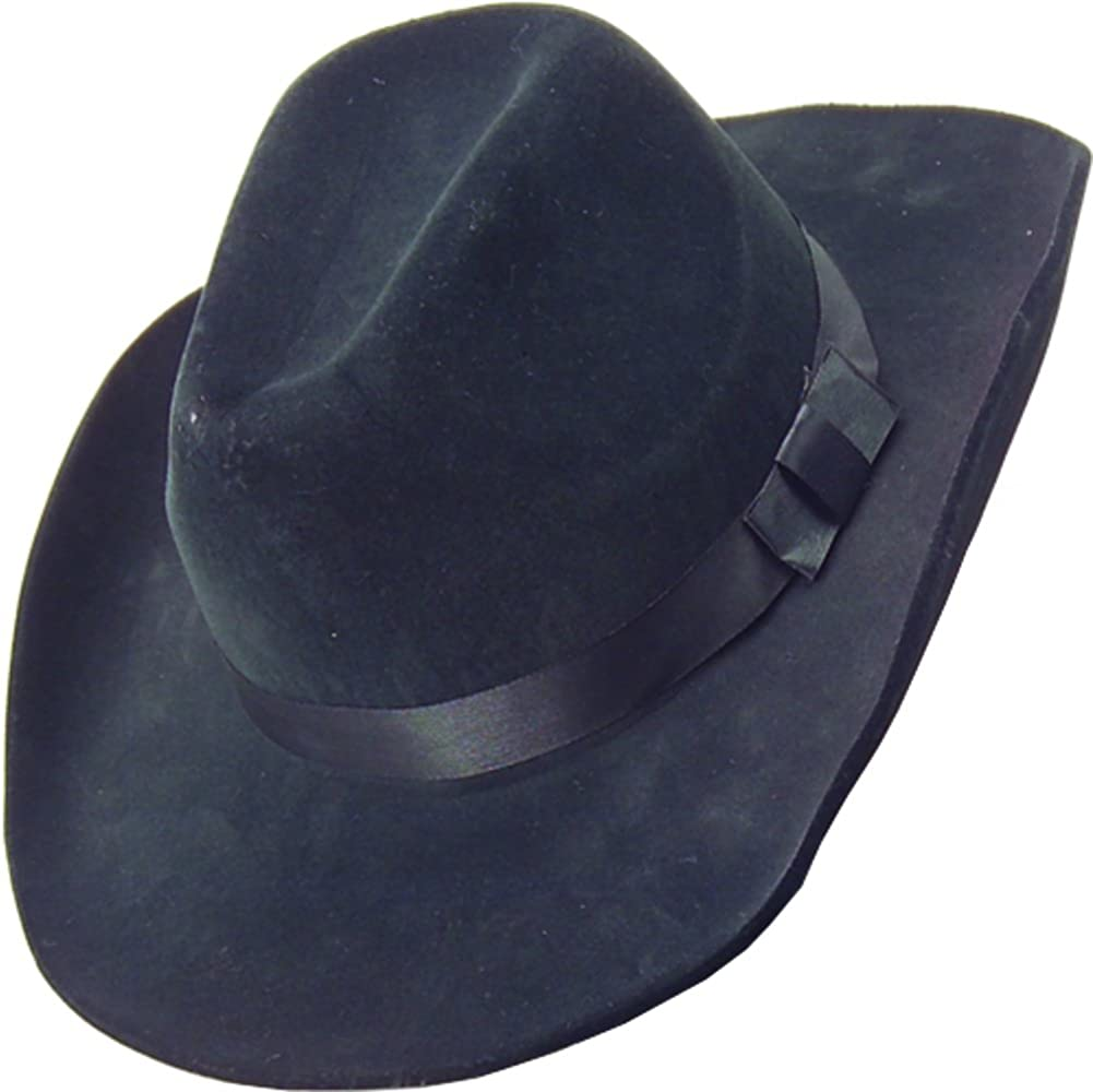 shipfree Country Award-winning store Black Cow Boy or Costume Hat Girl Felt