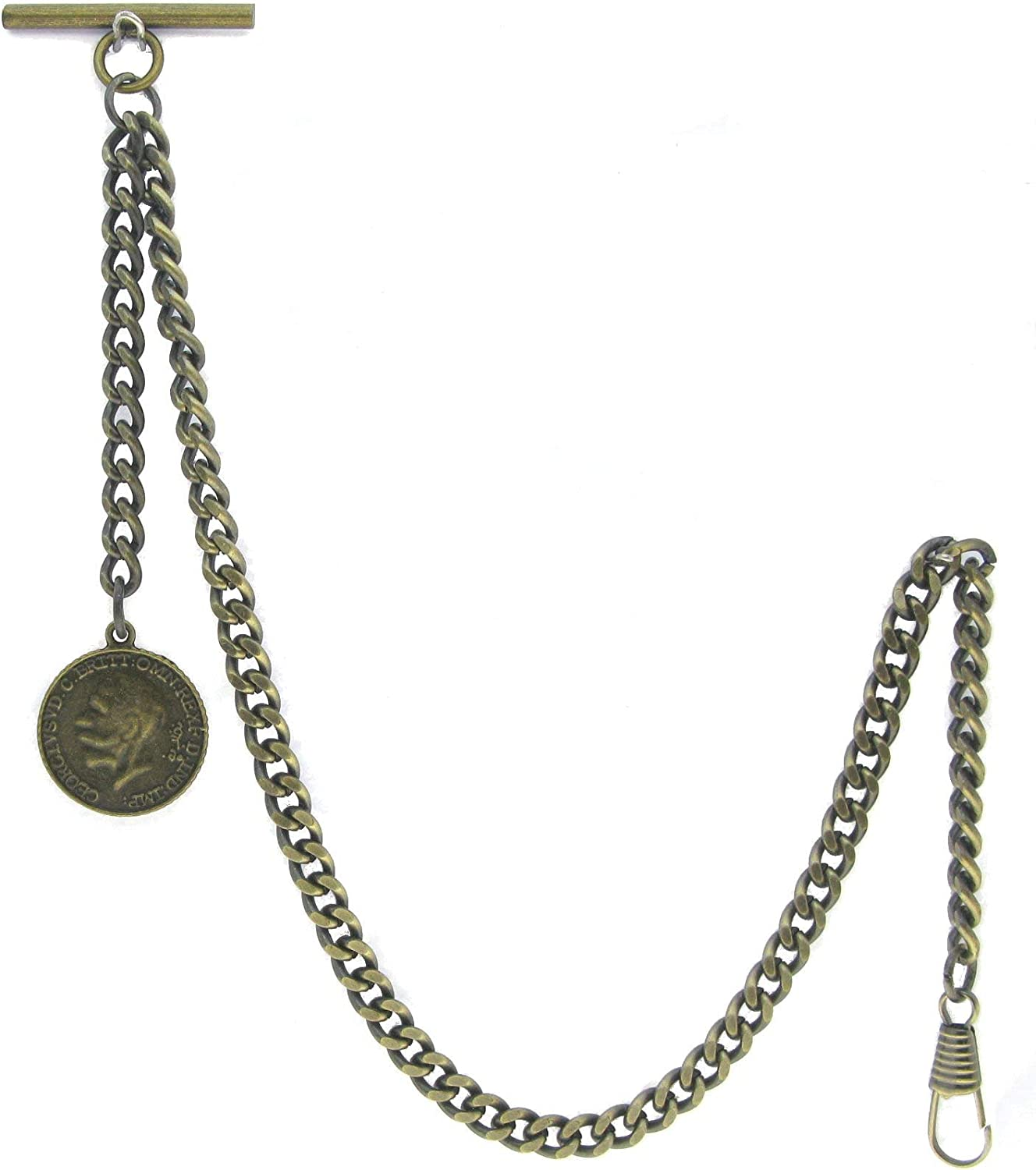 Albert Chain Pocket Watch Chains for Cheap bargain Men Color Antique Old Ranking TOP20 Brass