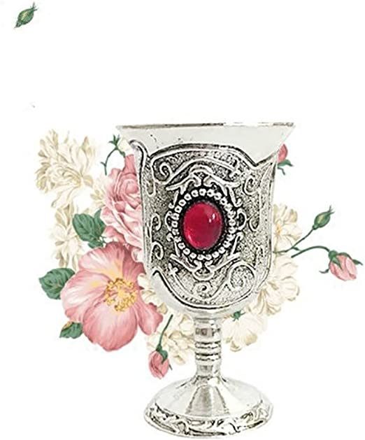Water Elemental Retro Chalice Goblet Retro Tarot Divination Props Small Tin Cup