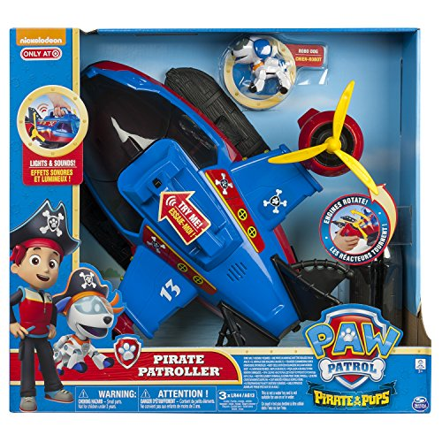 Spin Master – 6041155 – Paw Patrol – Pirate Pups – Pirate Patroller