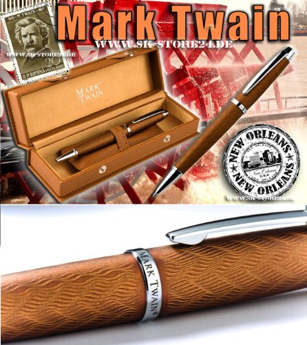 Mark Twain Metallkugelschreiber 'New Orleans'