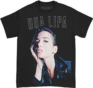 Dua Lipa Men's Album Photo Tee T-Shirt Black