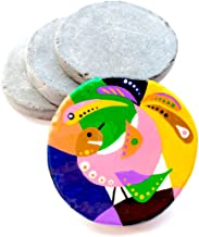 Capcouriers Flat Rocks for Painting (Flat Painting Rocks) - Rock Painting - 14 Smooth Rocks for Painting - About 2 inches ...