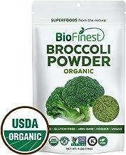 BioFinest Broccoli Extract Powder - 100% Pure Freeze-Dried Antioxidant Superfood - Usda Certified Organic Kosher Vegan Raw...