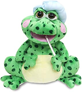 """Fever Frog 12"""" Tall Animated Singing Plush With Light Up Cheeks, Movement & Song Hospital Gift"""