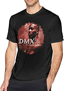 huatongxin DMX It's Dark and Hell is Hot Men's Cotton Short Sleeves T Shirt
