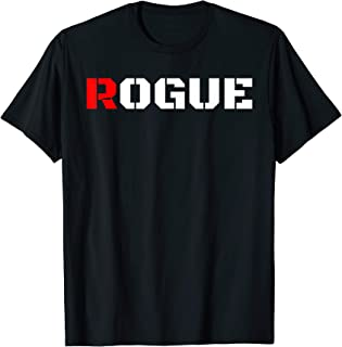 Rogue Bad Boy T Shirt Gaming Gamer Humor Tshirt Military Tee