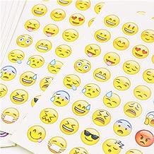 xiaoyamyi 12pcs /Émotic/ône Smiley Visage Autocollants DIY Scrapbooking Journal Album D/écor pour Maison D/écoration Emotic/ône Autocollants