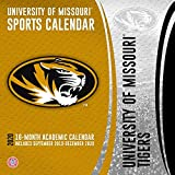 University of Missouri Tigers 2020 Calendar