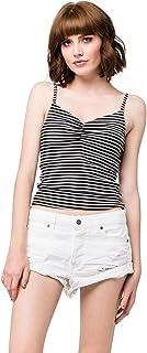 Volcom Women's Stoned Rolled Shorts White Shorts 1 X 2