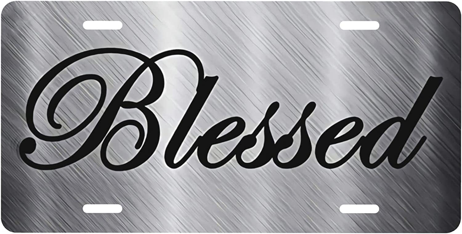 Blessed Ranking TOP20 Metal Retro License Ranking TOP18 Plate Durable and Decorative Strong
