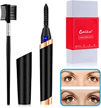 Heated Eyelash Curler, USB Rechargeable Electric Eyelash Curler for Quick Natural Curling,Long Lasting Eyelashes Curl Tool...