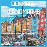 Denmark Landmarks Calendar 2022: Denmark Calendar 2022: 18 Months Denmark Travel With Beautiful Scenes of Denmark Calendar 2022 and Scenic Nature Wilderness of Denmark Monthly Planner