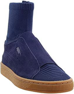 Mens Suede Classic X Poggy Casual Sneakers,