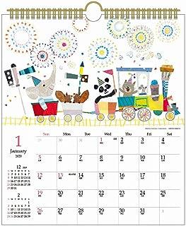 アートプリントジャパン 2020年 コロボックル(30角)カレンダー vol.107 1000109317