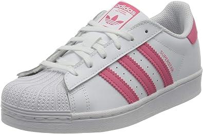 adidas Unisex Kid's Superstar J Sneaker, 5.5 UK
