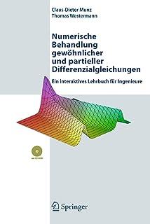 Numerische Behandlung gewöhnlicher und partieller Differenzialgleichungen: Ein interaktives Lehrbuch für Ingenieure (Germa...