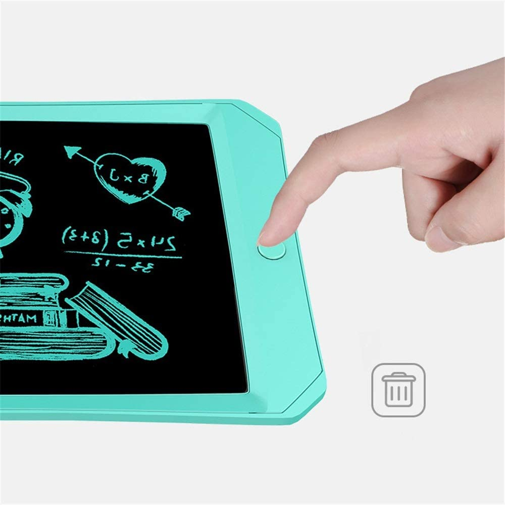 Color : Pink, Size : 11 inches LCD Writing Tablet 11 Inch Macaron Color LCD Writing Tablet Childrens Drawing Board LCD Writing Board Drawing Tablet for Kids