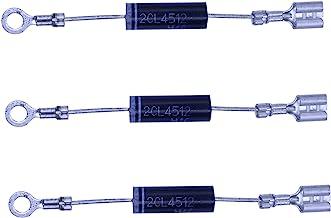 HUABAN 3PCS 2CL4512 Horno de microondas 450mA 12KV Diodo Rectificador de alto voltaje
