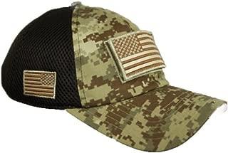 USA American Flag Baseball Cap Patch Trucker Army CAMO Hat Hunting