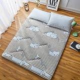 J-Kissen Boden Tatami-Matte, Schlafmatratzenauflage Pad Folding Dicker, Futon-Matratze Kissen, Studentenwohnheim Schlafmatte (Color : J, Size : 0.9m Bed) - 3