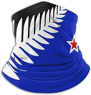 Lsjuee Nz Flag Design Silver Fern Bandane unisex Sciarpa Fascia per capelli Passamontagna Antivento Antipolvere Copricapo ...