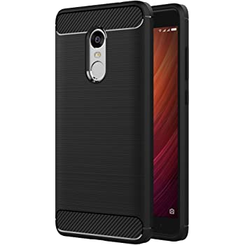 AICEK Funda Xiaomi Redmi Note 4, Redmi Note 4 Funda Negro Gel de ...