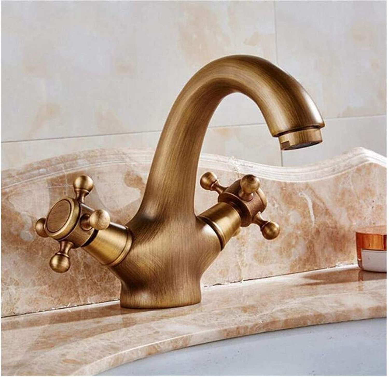 Brass Wall Faucet Chrome Brass Faucet Faucet Double Handles Mixer Tap Deck Mount