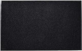 vidaXL Door Mat 90x60cm PVC Black Outdoor Welcome Flooring Entrance Doormat