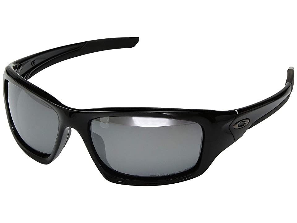 Oakley Valve Polarized (Black/Black) Fashion Sunglasses