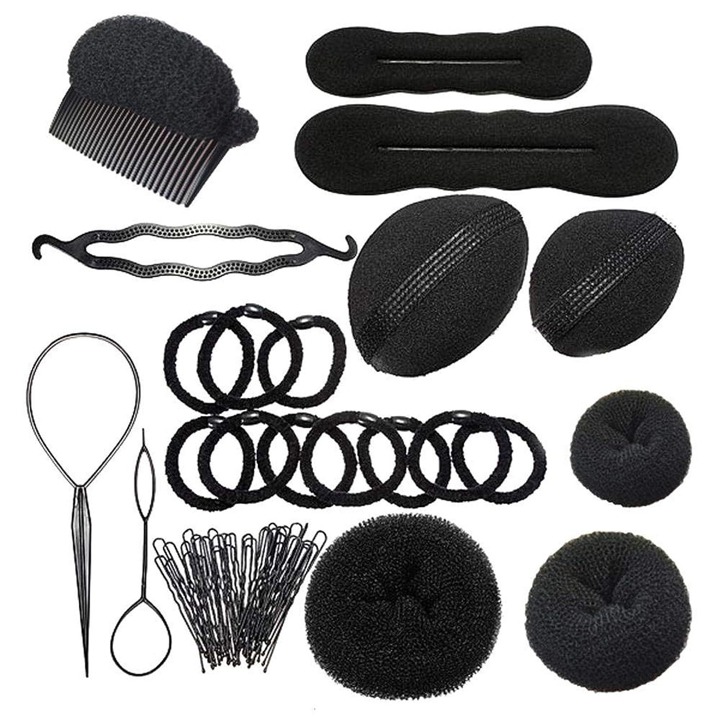 こしょう糸創造理髪ヘッドトレーニングヘッドヘアスタイリングアクセサリーキット