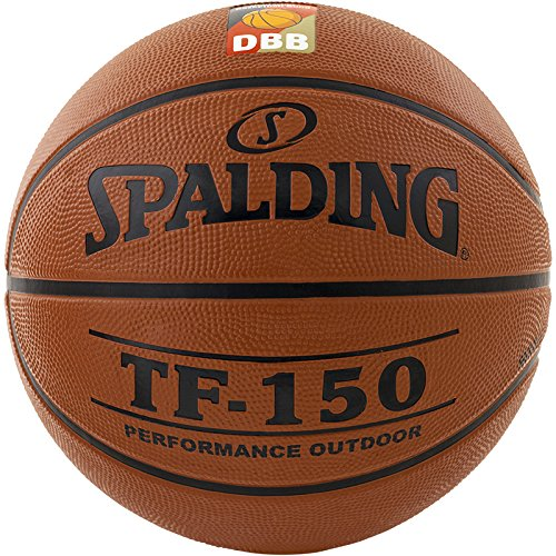 Spalding Basketball TF150 DBB Out 83-103z Ball, orange, 6