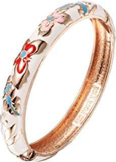 UJOY Bracelet Jewelry Cloisonne Butterfly Peafowl Design Gift Womens Girls Bangles Box Packed 55A102