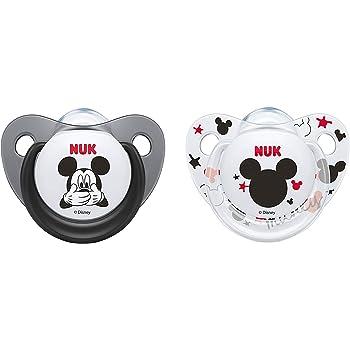 Blau Junge Disney Winnie Puuh BPA-freier Schnuller aus Silikon 0-6 Monate | 2/St/ück NUK Trendline Schnuller
