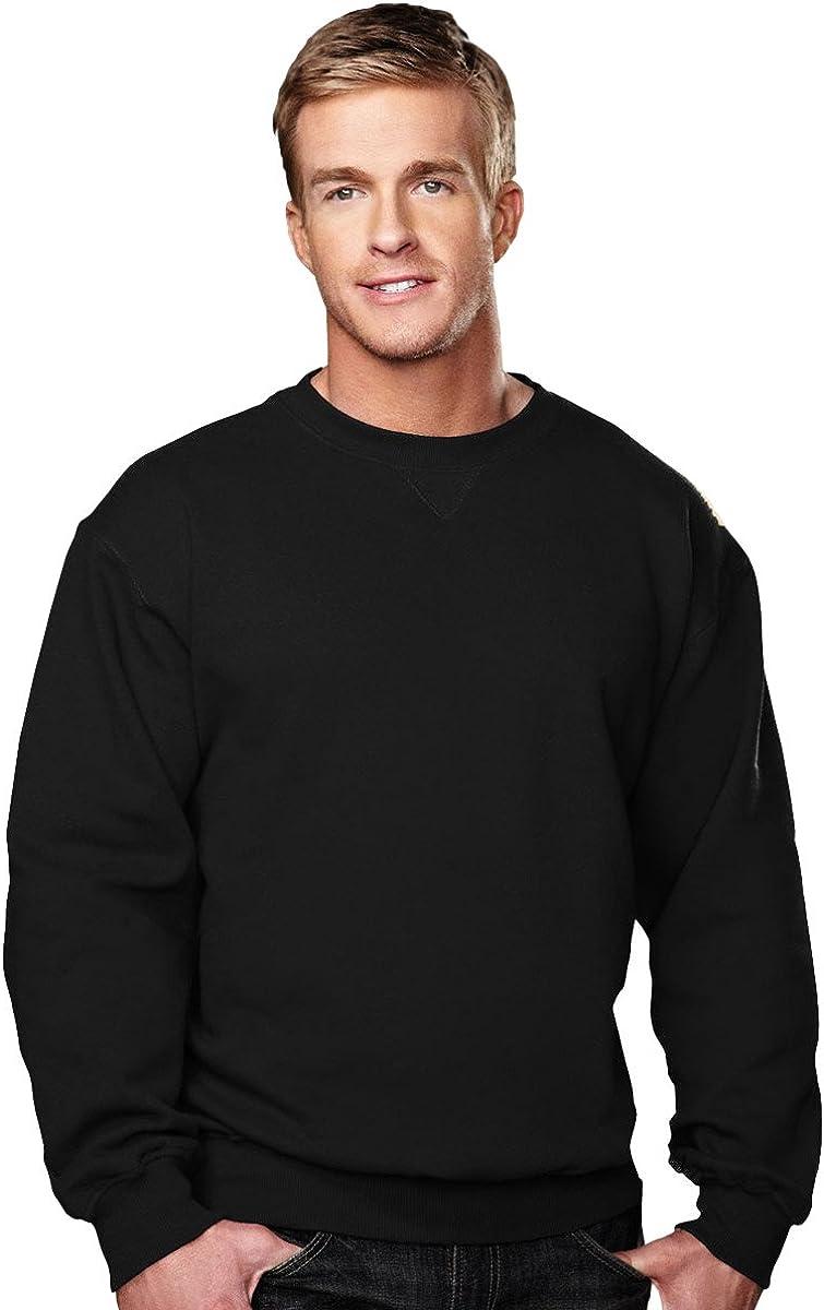 Tri-Mountain 10 oz. Crewneck Sweatshirt 680 Aspect Black