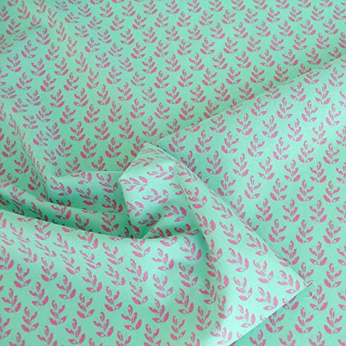 TOLKO Baumwollstoff aus Oeko-Tex Baumwolle | Bunt leuchtende Farben | Kochfeste Baumwoll-Popeline zum Nähen Dekorieren | weiche Meterware Kleiderstoff Dekostoff Bezugsstoff 50cm (Lind Pink Kochfest)