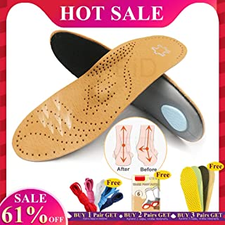 EID orthotic insole for Flat Feet Arch Support orthopedic shoes sole Insoles for feet men and women OX Leg