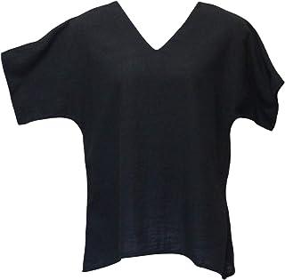 Ezze Wear Women`s Black California Cotton Brisa Top